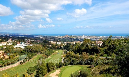 Modern luxury apartments to buy with spectacular sea views, Golf resort Marbella - Benahavis