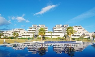 Modern luxury golf apartments with sea views for sale in the area of Marbella - Benahavis 0