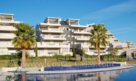 New Modern luxury golf apartments for sale in the area of Marbella - Benahavis 2