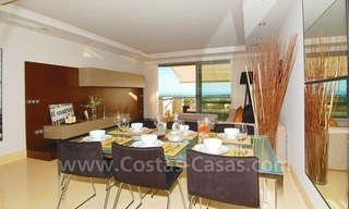 Modern luxury golf apartments with sea views for sale in the area of Marbella - Benahavis 17