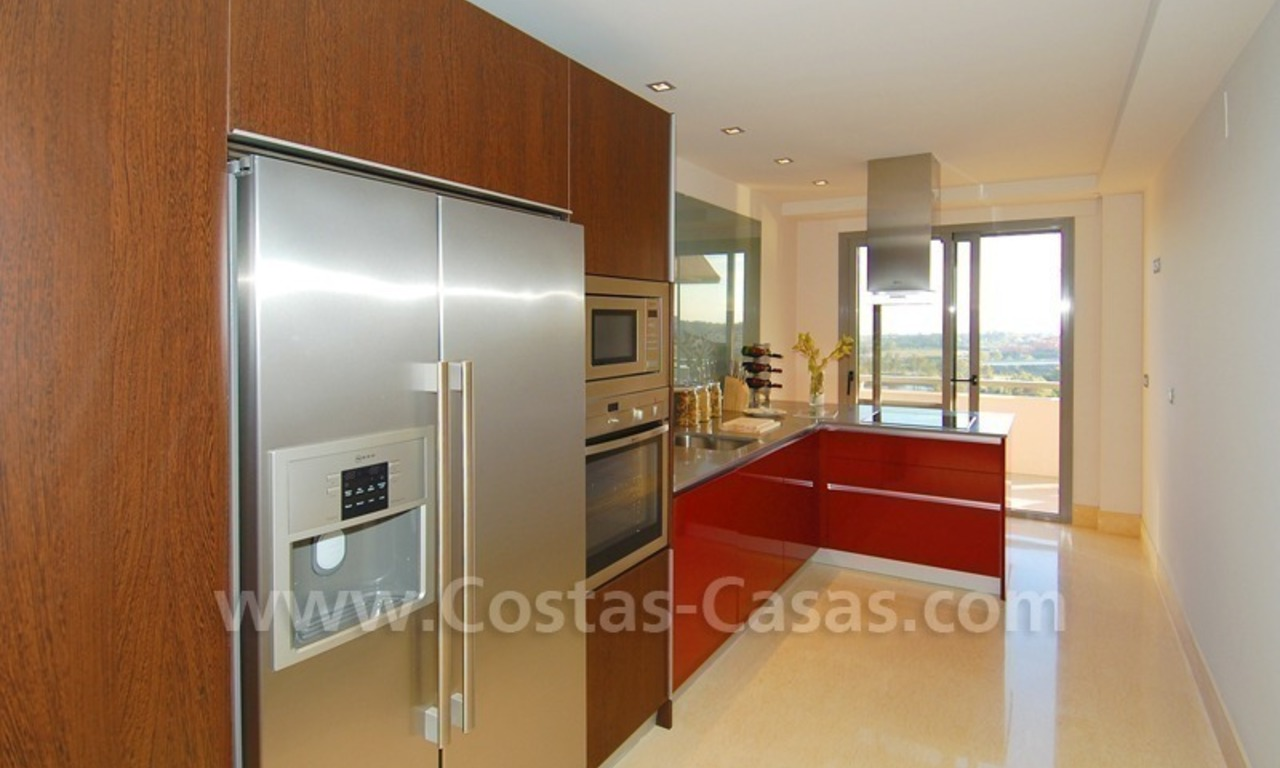 New Modern luxury golf apartments for sale in the area of Marbella - Benahavis 18
