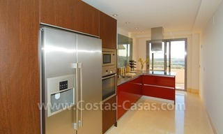 Modern luxury golf apartments with sea views for sale in the area of Marbella - Benahavis 18
