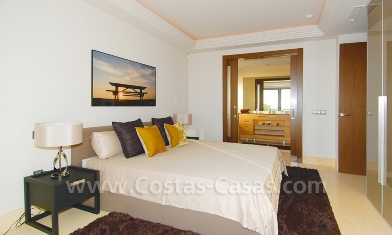 New Modern luxury golf apartments for sale in the area of Marbella - Benahavis 20