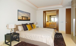 Modern luxury golf apartments with sea views for sale in the area of Marbella - Benahavis 20