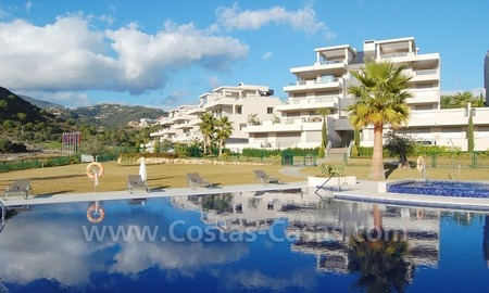 New Modern luxury golf apartments for sale in the area of Marbella - Benahavis 3