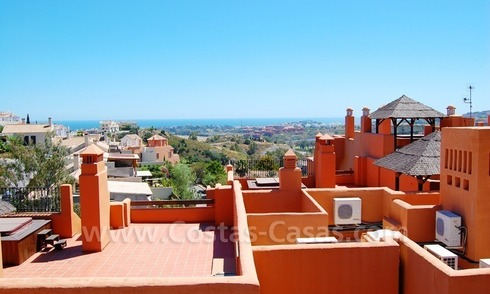 Luxury apartments for sale with sea views, Marbella -Benahavis