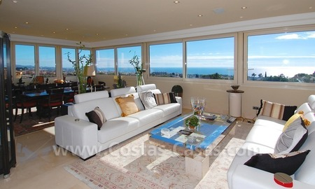 Luxury penthouse apartment for sale in Sierra Blanca, Marbella  0