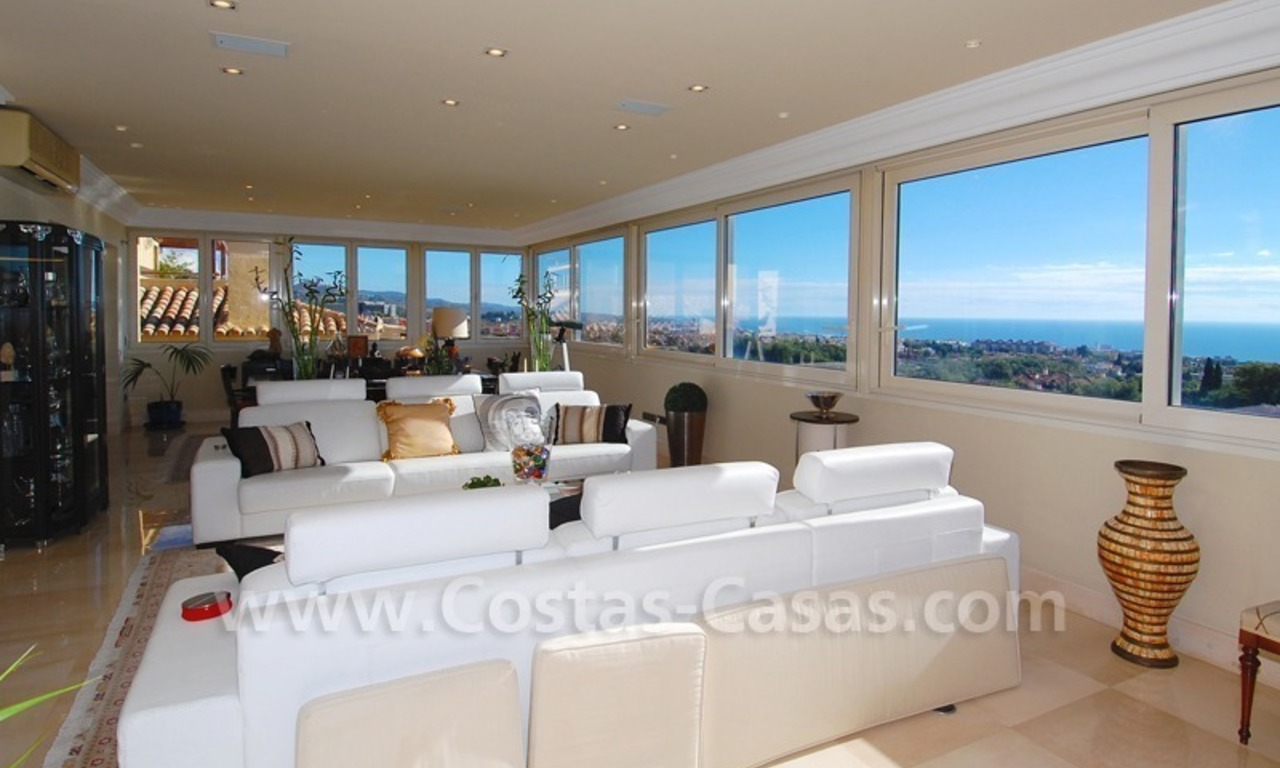 Luxury penthouse apartment for sale in Sierra Blanca, Marbella 1