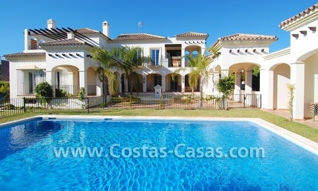 Luxury beachside villa for sale in Marbella