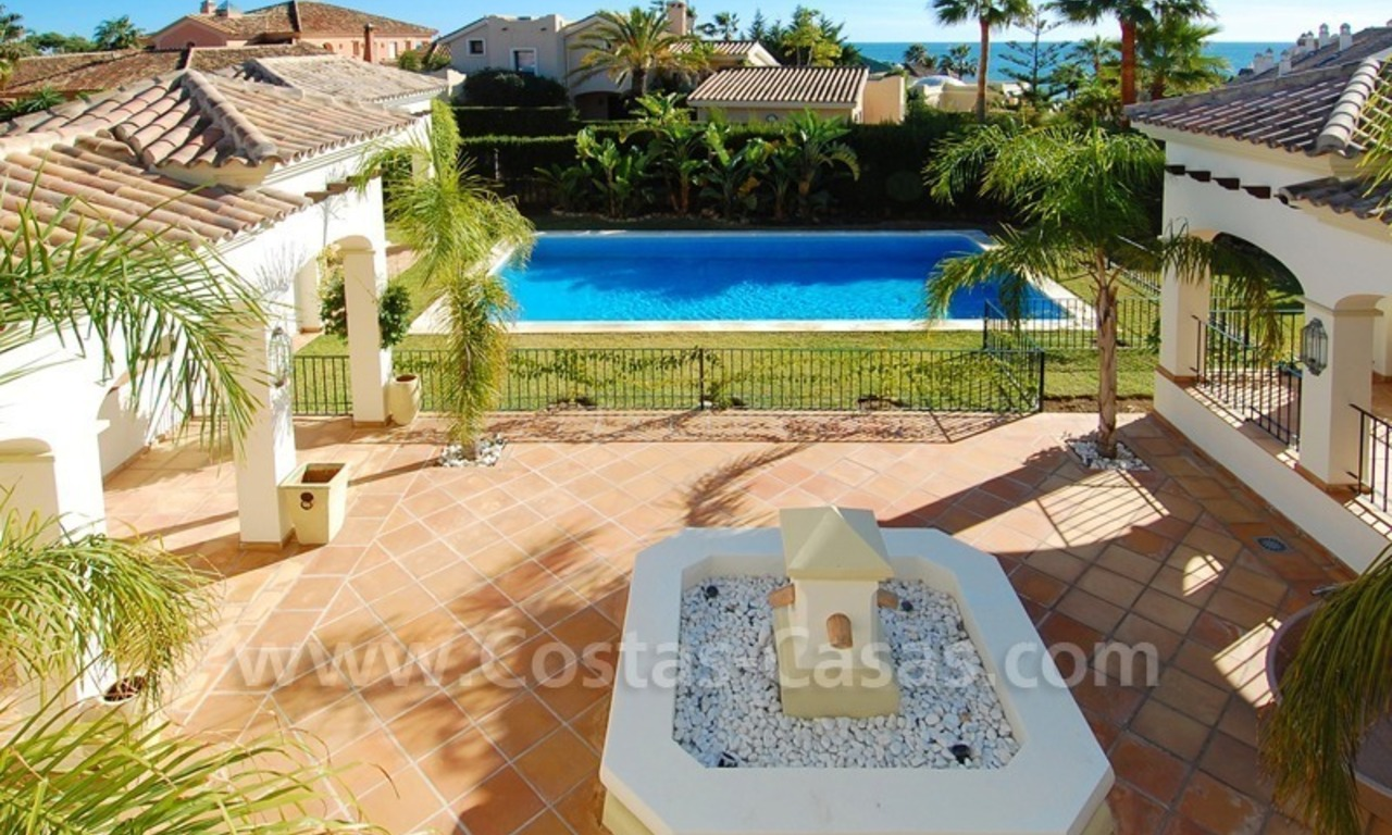 Luxury beachside villa for sale in Marbella 25
