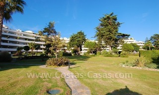 Beachfront apartments and penthouse for sale in a front line beach complex on the New Golden Mile, Marbella - Estepona 25