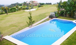 Large exclusive first line golf mansion villa for sale in Marbella – Benahavis. 2