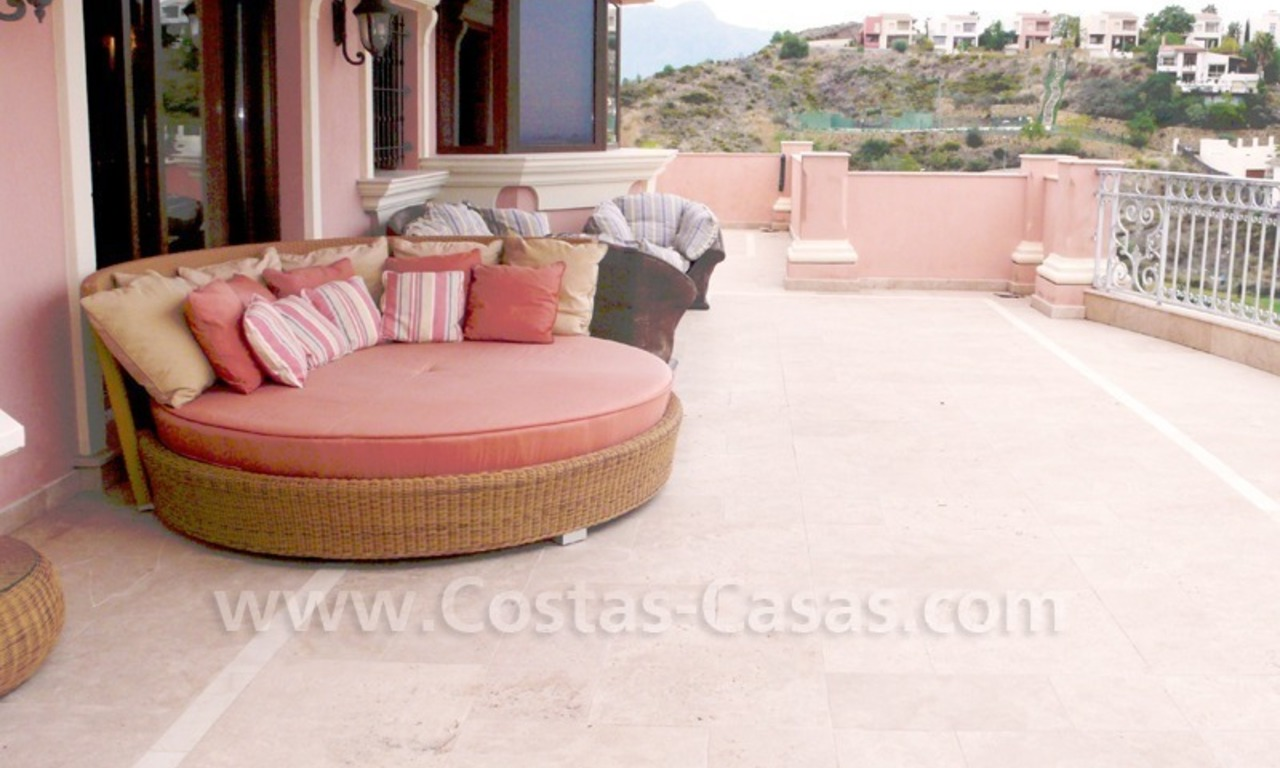 Large exclusive first line golf mansion villa for sale in Marbella – Benahavis. 6