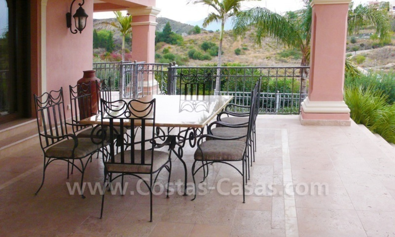Large exclusive first line golf mansion villa for sale in Marbella – Benahavis. 8