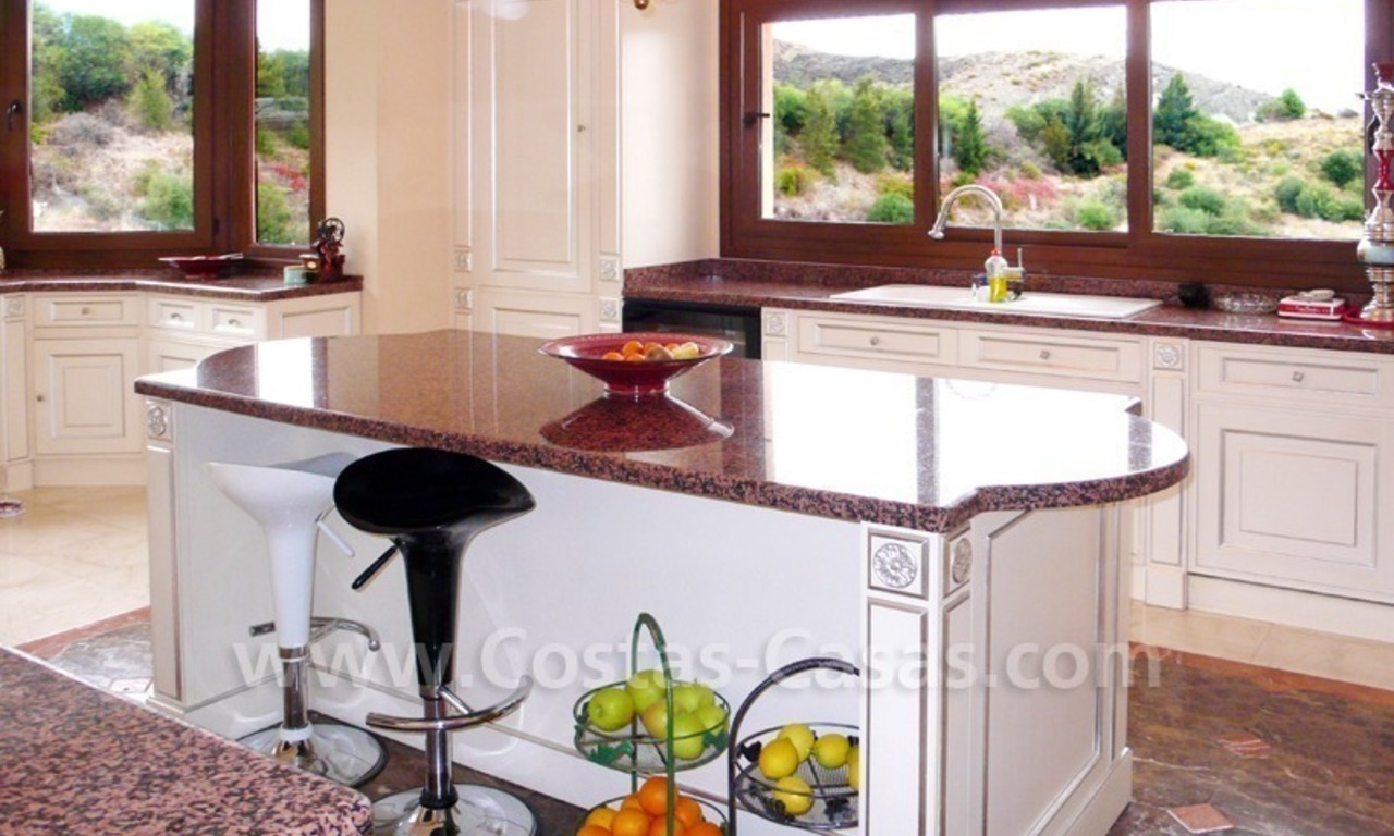 Large exclusive first line golf mansion villa for sale in Marbella – Benahavis. 20