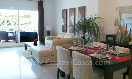 Bargain frontline golf penthouses and apartments for sale on Golf resort in Costa del Sol 9