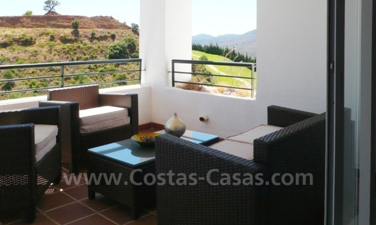 Bargain frontline golf penthouses and apartments for sale on Golf resort in Costa del Sol 6