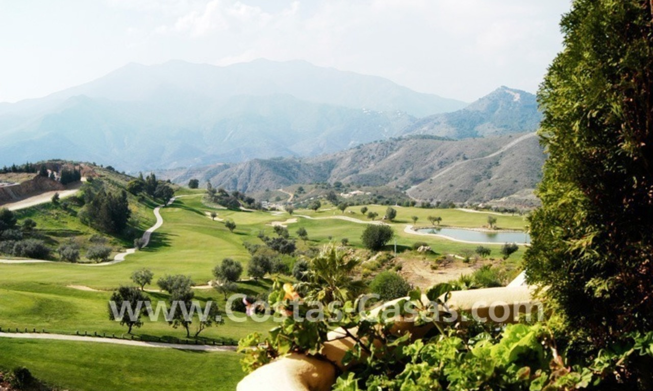 Bargain frontline golf penthouses and apartments for sale on Golf resort in Costa del Sol 18