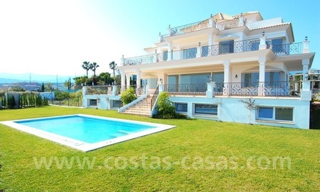 Spacious luxury villa for sale, golf resort, Benahavis – Marbella – Estepona on the Costa del Sol. 2