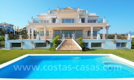 Spacious luxury villa for sale, golf resort, Benahavis – Marbella – Estepona on the Costa del Sol. 0