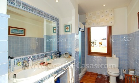 Beachside villa for sale, close to the beach in Marbella east 19
