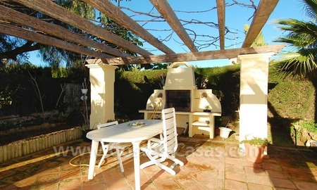 Beachside villa for sale, close to the beach in Marbella east 4