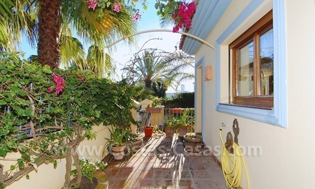 Beachside villa for sale, close to the beach in Marbella east 5