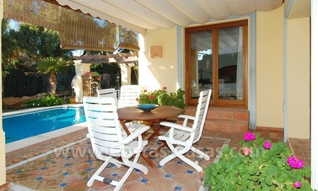 Beachside villa for sale, close to the beach in Marbella east 6