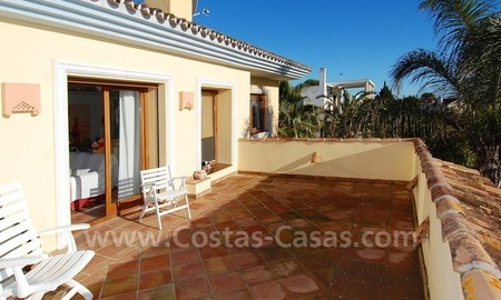 Beachside villa for sale, close to the beach in Marbella east 7