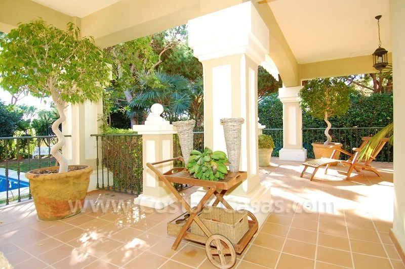 Spacious luxury villa for sale in Marbella east 6