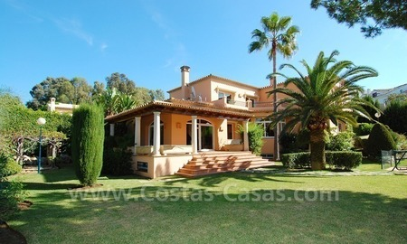 Beachside villa for sale in Elviria, Marbella