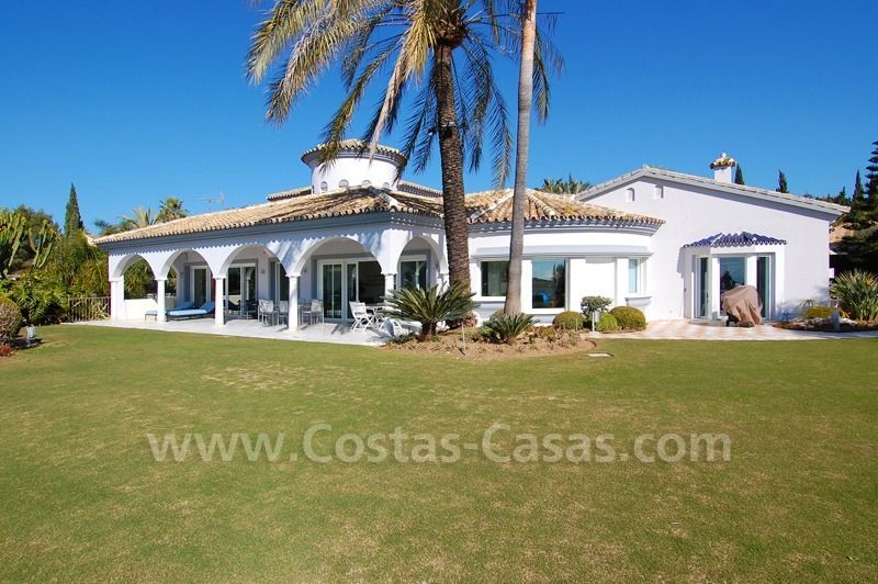 Breathtaking immaculate contemporary style villa for sale in Marbella
