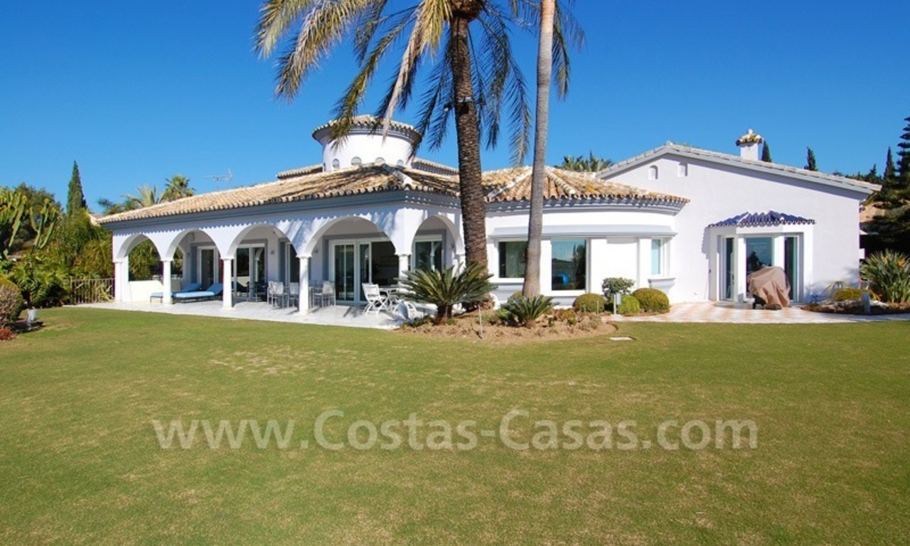 Breathtaking immaculate contemporary style villa for sale in Marbella 0