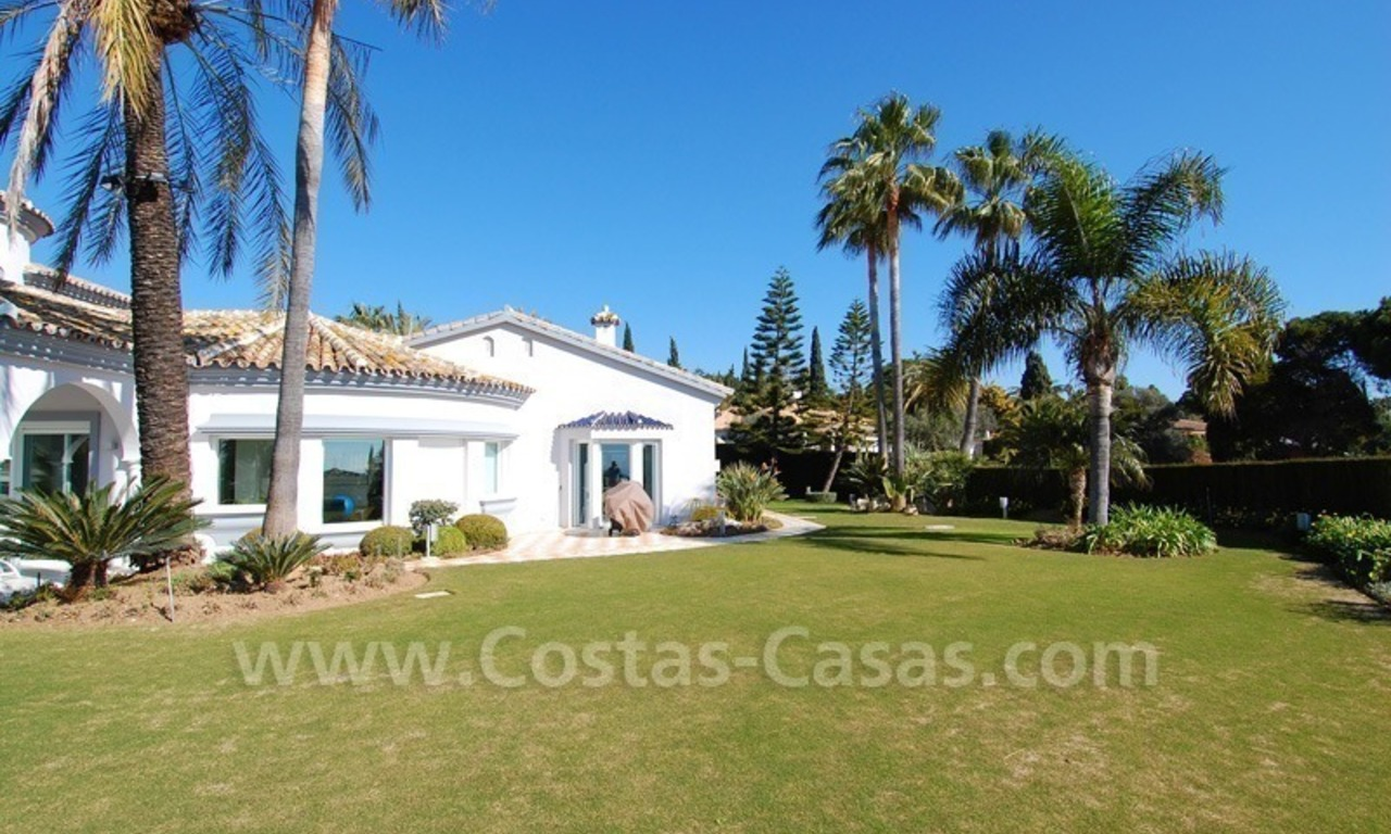 Breathtaking immaculate contemporary style villa for sale in Marbella 1