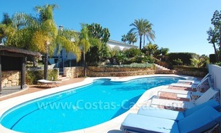 Breathtaking immaculate contemporary style villa for sale in Marbella 3