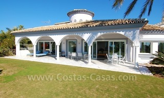 Breathtaking immaculate contemporary style villa for sale in Marbella 4