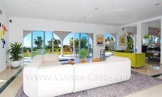 Breathtaking immaculate contemporary style villa for sale in Marbella 10