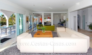 Breathtaking immaculate contemporary style villa for sale in Marbella 11