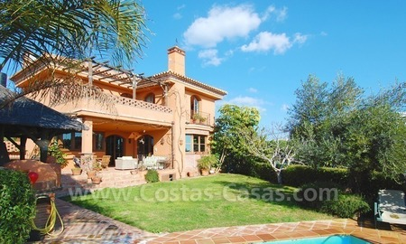 Charming beachside detached villa for sale in Eastern Marbella 0