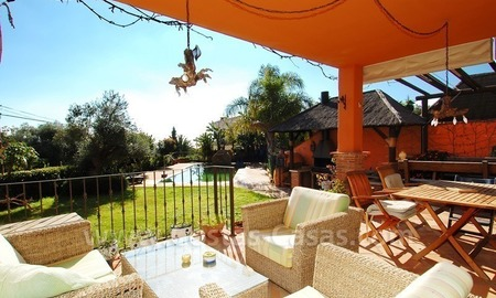 Charming beachside detached villa for sale in Eastern Marbella 5