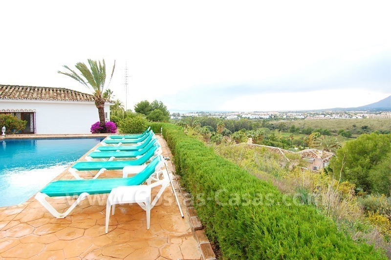 Classical Spanish style villa to buy in the area of Marbella – Estepona. 1