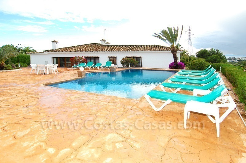 Classical Spanish style villa to buy in the area of Marbella – Estepona.