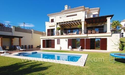 Exclusive modern andalusian villa to buy in Marbella East.