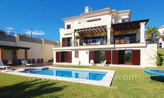 Exclusive modern andalusian villa to buy in Marbella East. 0