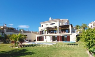 Exclusive modern andalusian villa to buy in Marbella East. 1