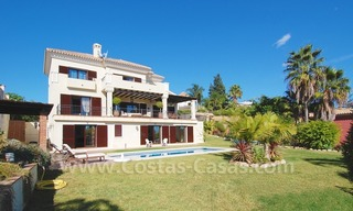 Exclusive modern andalusian villa to buy in Marbella East. 2