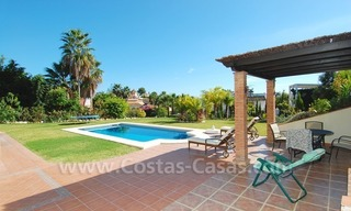 Exclusive modern andalusian villa to buy in Marbella East. 3