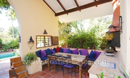 Villa on first line Aloha golf in a prime area for sale in Marbella – Puerto Banús – Nueva Andalucía 6