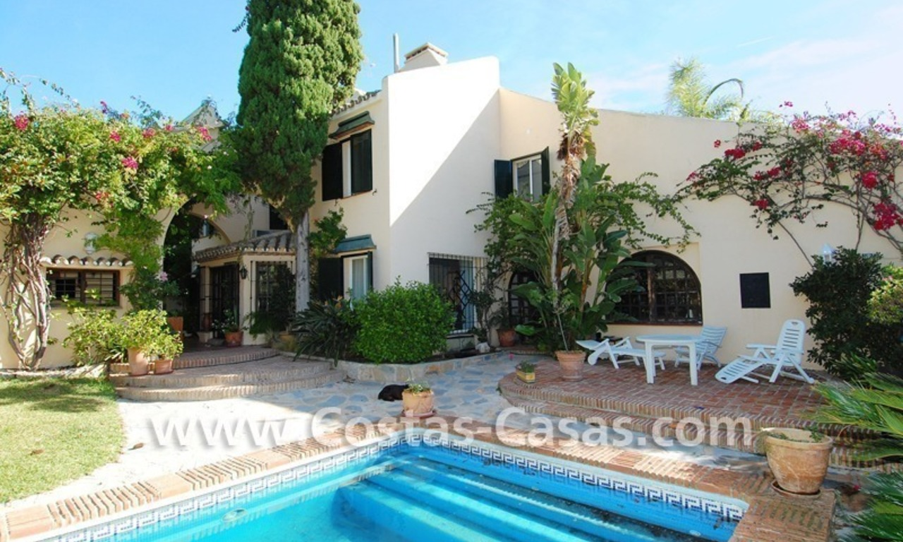 Villa on first line Aloha golf in a prime area for sale in Marbella – Puerto Banús – Nueva Andalucía 3