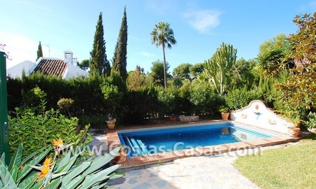 Villa on first line Aloha golf in a prime area for sale in Marbella – Puerto Banús – Nueva Andalucía 4